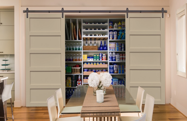 Pantry Sliding Barn Doors In Atlanta, GA
