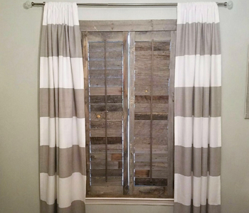 Reclaimed Wood Shutters Product In Atlanta