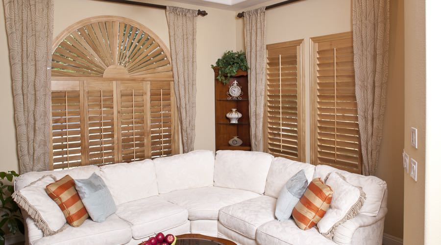 Ovation Wood Shutters In Atlanta Living Room
