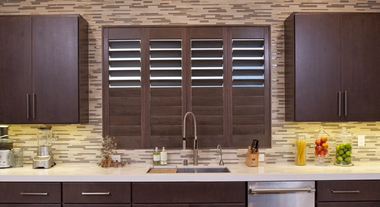 Atlanta cafe kitchen shutters