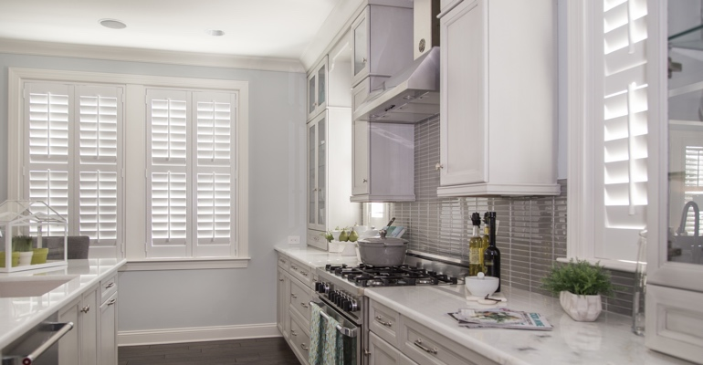 Atlanta kitchen white shutters