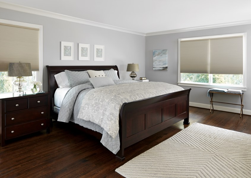 Atlanta blackout shades bedroom