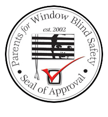 Seal of Approval by Parents for Window Blind Safety in Atlanta