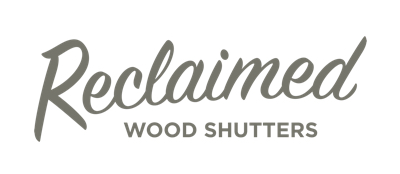 Atlanta reclaimed wood shutters