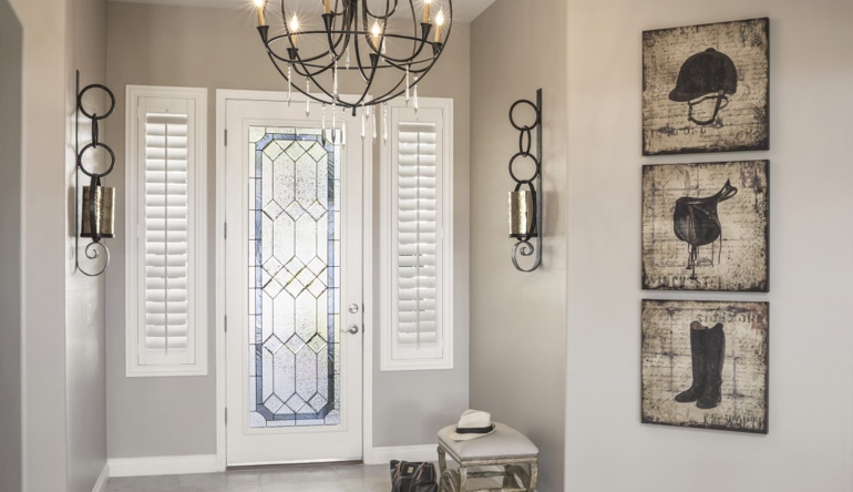 Atlanta sidelight shutters