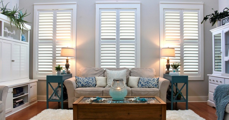 Atlanta parlor plantation shutters