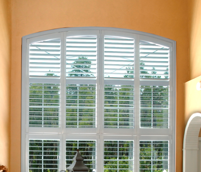 Arched Window Shutters In Atlanta, GA