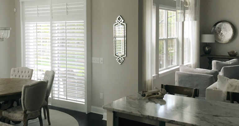 Atlanta kitchen patio door shutters