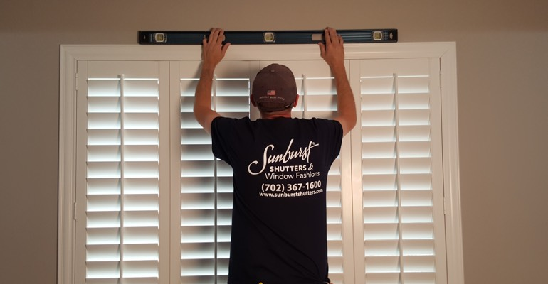 Atlanta interior shutter measurement