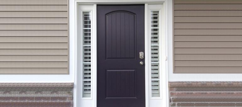 Entry Door Sidelight Shutters In Atlanta Ga